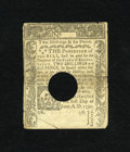 Colonial Notes:Connecticut, Connecticut June 1, 1780 2s/6d Very Fine. The note is held togetherat center with bits of archival tape though the design i...