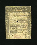 Colonial Notes:Connecticut, Connecticut June 1, 1780 2s/6d Fine+. This cut cancelled examplewhich has numerous repairs on the back is still quite brigh...