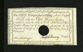Colonial Notes:Connecticut, Hartford, CT- Comptroller's Office Ten Shillings 1790 New, POC.These issues are always found cancelled....