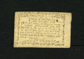 Colonial Notes:Massachusetts, Massachusetts June 18, 1776 3s/6d About New. A single light centerfold is found on this Massachusetts note that is in a gra...
