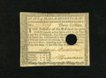 Colonial Notes:Massachusetts, Massachusetts May 5, 1780 $3 Extremely Fine-About New. A bright andattractive note that has good color and close but accept...
