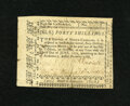 Colonial Notes:North Carolina, North Carolina December, 1768 40s Very Fine. The technical gradecertainly would have been better were it not for a repaired...