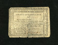 Colonial Notes:North Carolina, North Carolina May 10, 1780 $25 Very Good. Most of the detailsremain on this issue which has a tear that extends into a por...