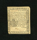 Colonial Notes:Pennsylvania, Pennsylvania April 10, 1777 4d Extremely Fine-About New. With a bitmore margin at left this note certainly could have been ...