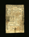 Colonial Notes:Rhode Island, Rhode Island January 15, 1776 30s Very Good-Fine. The technicalgrade of this scarce Rhode Island note is much higher but th...