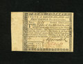 Colonial Notes:Rhode Island, Rhode Island July 2, 1780 $7 Very Choice New. A lovely Rhode Islandnote that is as crisp as the day it was printed without ...