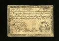 Colonial Notes:South Carolina, South Carolina February 14, 1777 $30 Extremely Fine. A lovelyexample of this much scarcer issue. This note has superb prin...