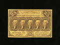 Fractional Currency:First Issue, Fr. 1281 25c First Issue Very Choice New. Rich yellow inks highlight crisp paper surfaces on this tightly margins but very w...