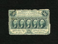 Fractional Currency:First Issue, Fr. 1313SP 50c First Issue Very Good. This Narrow Margin Specimen face still is bright despite the margin roughness and repa...