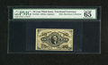 Fractional Currency:Third Issue, Fr. 1254 10c Third Issue PMG Gem Uncirculated 65. This is truly one of the nicest examples of this scarce hand signed Jeffri...
