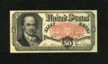 Fractional Currency:Fifth Issue, Fr. 1381 50c Fifth Issue Extremely Fine. Three light vertical foldshave entered the surface on this pleasing Bob Hope note....