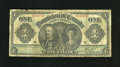 Canadian Currency: , DC-18d $1 1911. This Ace dated 1911 shows its age in the form of afew margin nicks and soiling throughout. Good-Very Good...