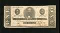 Confederate Notes:1863 Issues, T62 $1 1863. The lower left-hand corner has been shaved. Extremely Fine....
