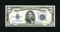 Error Notes:Skewed Reverse Printing, Fr. 1651 $5 1934A Silver Certificate. Choice Crisp Uncirculated..The back printing on this gorgeous example is skewed down ...