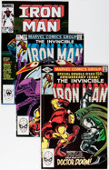 Modern Age (1980-Present):Superhero, Iron Man #150-331 Near Complete Range Short Box Group (Marvel,1981-96) Condition: Average NM....