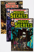 Bronze Age (1970-1979):Horror, House of Secrets Group (DC, 1969-73) Condition: Average FN+....(Total: 26 Comic Books)