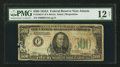 Small Size:Federal Reserve Notes, Fr. 2202-F $500 1934A Federal Reserve Note. PMG Fine 12 Net.. ...
