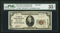 National Bank Notes:Pennsylvania, Red Lion, PA - $20 1929 Ty. 1 The Farmers & Merchants NB Ch. #6708. ...