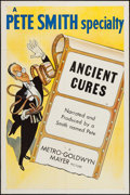 """Movie Posters:Documentary, Ancient Cures (MGM, 1953). One Sheet (27"""" X 41""""). Documentary.. ..."""