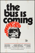 "Movie Posters:Blaxploitation, The Bus is Coming (William Thompson Intl., 1971). One Sheet (27"" X41"") Advance. Blaxploitation.. ..."