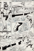 "Original Comic Art:Panel Pages, Neal Adams and Bernie Wrightson Green Lantern #84 ""Peril inPlastic"" Page 5 Original Art (DC, 1971)...."
