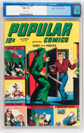 Golden Age (1938-1955):Adventure, Popular Comics #94 Mile High pedigree (Dell, 1943) CGC NM+ 9.6Off-white pages....