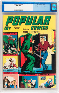 Popular Comics #94 Mile High pedigree (Dell, 1943) CGC NM+ 9.6 Off-white pages
