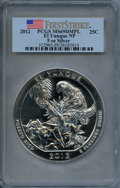 Modern Bullion Coins, 2012 25C El Yunque 5-Ounce Silver, First Strike MS69 Deep Mirror Prooflike PCGS. PCGS Population (711/0). ..