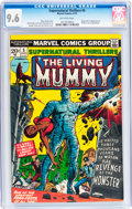 Bronze Age (1970-1979):Horror, Supernatural Thrillers #5 (Marvel, 1973) CGC NM+ 9.6 Off-whitepages....