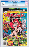 Bronze Age (1970-1979):Miscellaneous, Red Sonja #1 (Marvel, 1977) CGC NM 9.4 Off-white to white pages....
