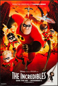 "Movie Posters:Animation, The Incredibles (Buena Vista, 2004). One Sheet (27"" X 40"") DS Advance. Animation.. ..."