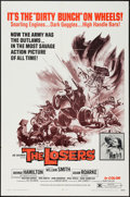 """Movie Posters:Exploitation, The Losers (Fanfare, 1970). One Sheet (27"""" X 41""""). Exploitation....."""