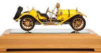 EXHIBITION SCALE MODEL 1913 TYPE 35 MERCER 'RACEABOUT' BY FINE ART MODELS Model: 8-1/2 x 21 x 9 inches (21.6 x 53