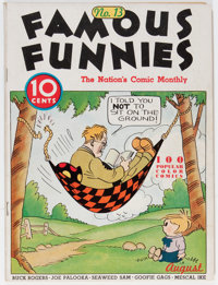 Famous Funnies #13 (Eastern Color, 1935) Condition: VG-