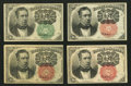 Fractional Currency:Fifth Issue, Fr. 1264 10¢ Fifth Issue VF-XF. Fr. 1265 10¢ Fifth Issue About New.Fr. 1266 10¢ Fifth Issue Two Examples Fine.. ... (Total: 4 notes)