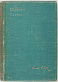 Books:Literature Pre-1900, [Cyrano de Bergerac]. Louis Gallet. Captain Satan. London:Jarrold and Sons, 1900. Later edition. Octavo. 368 pages....