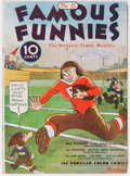 Platinum Age (1897-1937):Miscellaneous, Famous Funnies #15 (Eastern Color, 1935) Condition: FN/VF....
