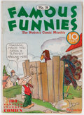 Platinum Age (1897-1937):Miscellaneous, Famous Funnies #16 (Eastern Color, 1935) Condition: GD/VG....