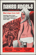 "Movie Posters:Exploitation, Naked Angels (Rio Pinto, 1969). One Sheet (27"" X 41"").Exploitation.. ..."