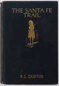 Books:Americana & American History, R.L. Duffus. The Santa Fe Trail. New York: Longmans, Greenand Co., [1931]. Second printing. Publisher's binding. Ex...