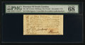 Colonial Notes:North Carolina, North Carolina December, 1771 £1 PMG Superb Gem Unc 68 EPQ.. ...