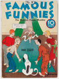 Platinum Age (1897-1937):Miscellaneous, Famous Funnies #18 (Eastern Color, 1936) Condition: VG-....