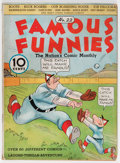Platinum Age (1897-1937):Miscellaneous, Famous Funnies #22 (Eastern Color, 1936) Condition: VG....