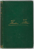 Books:Literature Pre-1900, Theodore Tilton. The Sexton's Tale, and Other Poems. NewYork: Sheldon and Company, 1867. Publisher's binding. Corne...
