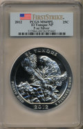 Modern Bullion Coins, 2012 25C El Yunque Five-Ounce Silver, First Strike MS69 Prooflike PCGS. PCGS Population (381/0). Numism...