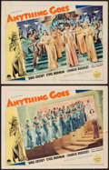 "Movie Posters:Musical, Anything Goes (Paramount, 1936). Lobby Cards (2) (11"" X 14"").Musical.. ... (Total: 2 Items)"