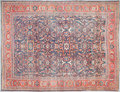 Rugs & Textiles:Carpets, A PERSIAN WOOL KNOTTED CARPET. 20th century. 14 feet long x 10-1/2feet wide. ...