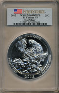 Modern Bullion Coins, 2012 25C El Yunque Five-Ounce Silver, First Strike MS69 Deep Mirror Prooflike PCGS. PCGS Population (711/0). NGC Census: (0...