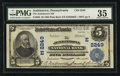 National Bank Notes:Pennsylvania, Jenkintown, PA - $5 1902 Plain Back Fr. 605 The Jenkintown NB Ch. #(E)2249. ...
