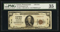 National Bank Notes:Pennsylvania, Easton, PA - $100 1929 Ty. 1 The Northampton NB Ch. # 5118. ...